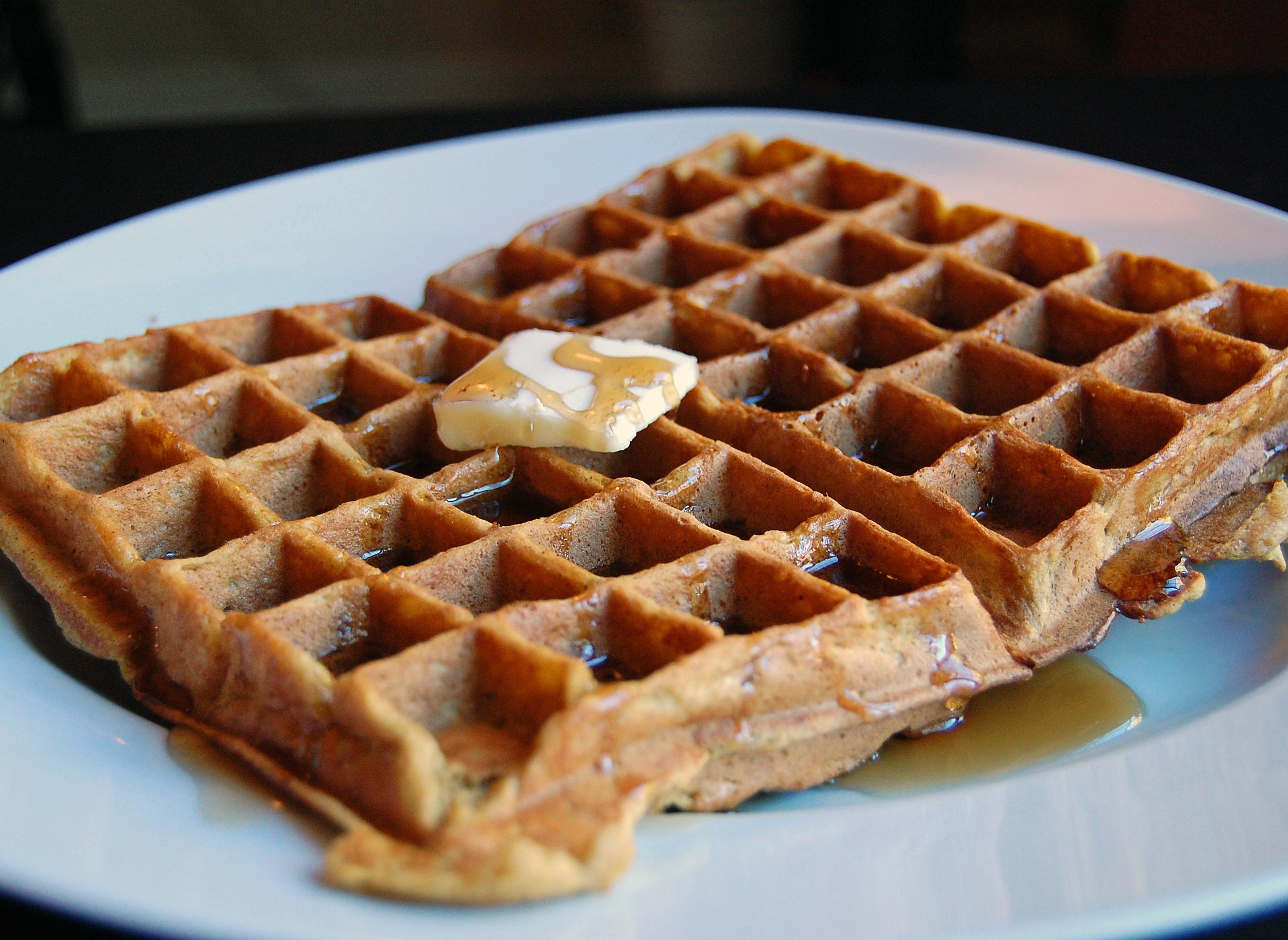Pumpkin Waffles | Marshmallow Mondays