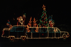 Santa's Limousine.