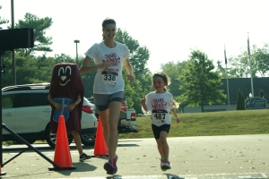 First 5K for Lily!